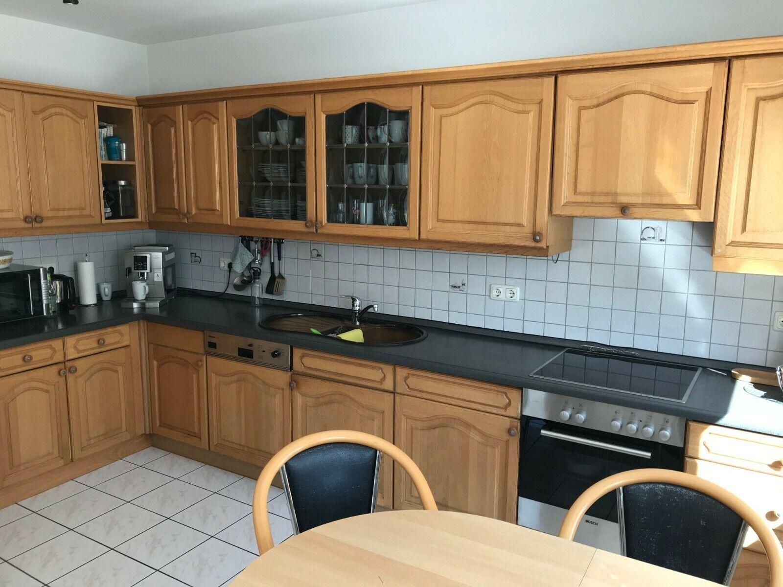 Küchenschränke,Unterschränke,Eiche hell,mitE-Herd. Abgebaut