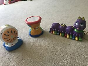 Leap frog 3 toys for toddler musical and intellectual