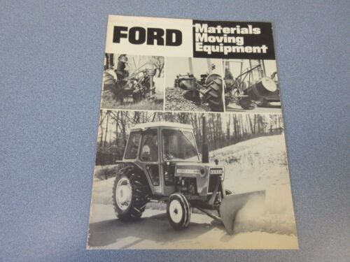 Ford Materials Moving Equipment Brochure                       lw