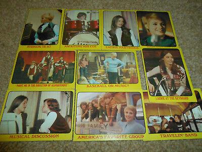 Partridge Family Cards 1971 A&BC Gum RARE David Cassidy Susan Dey Shirley Jones