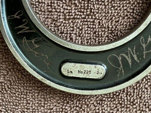 "Vintage L.S. Starrett Tools Micrometer Caliper No.226 USA. 1"" - 2"""