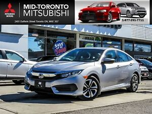 2016 Honda Civic LX Back Up Camera|Heated Seats|