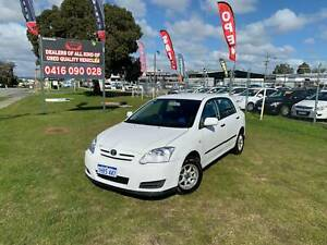 2004 TOYOTA COROLLA ASCENT SECA HATCHBACK 36 MONTHS FREE WARRANTY Kenwick Gosnells Area Preview