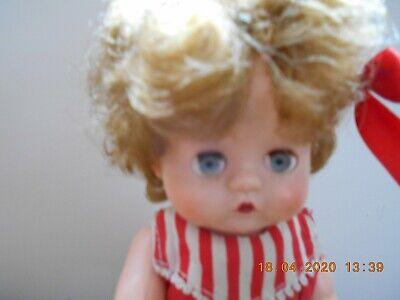 Vintage 1950S Pedigree Hard Plastic Grumpy Doll 10 in Tall   FAB