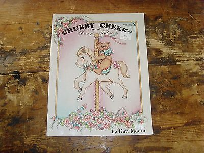 Volume 2 Chubby Cheeks and Beary Tales by Kim Mauro craft painting booklet cute