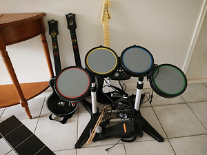 XBox Rockstar and Rockband instruments Heritage Park Logan Area Preview