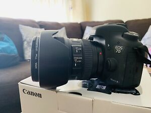 Canon lenses for sale immaculate condition