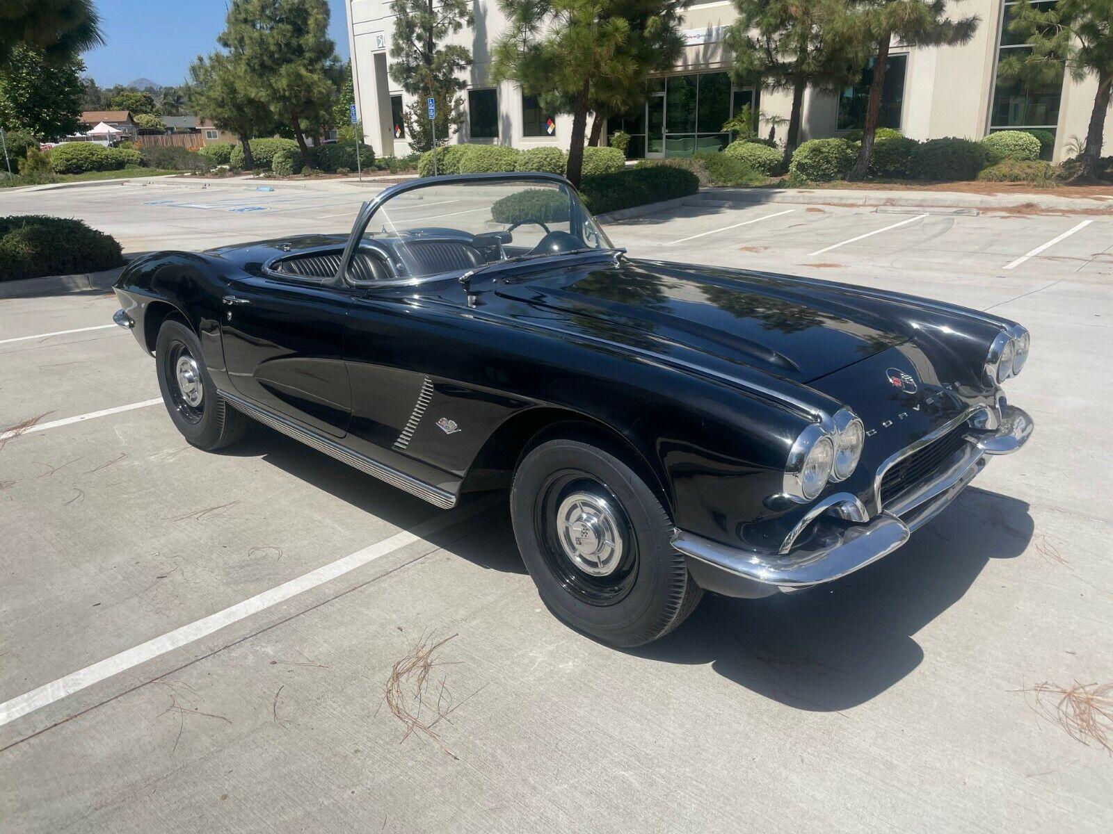 1962 Black Chevrolet Corvette   | C1 Corvette Photo 2