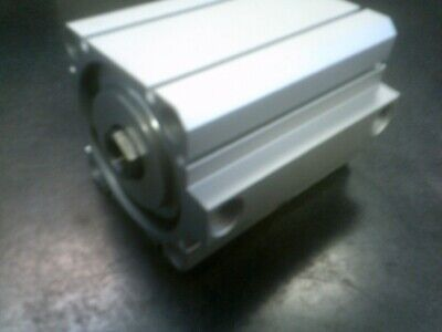 Smc Ncdq8b250-200 Pneumatic Air Cylinder Double Acting Compact 34 Ram 2 Stroke