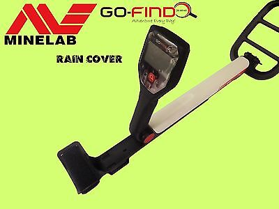 Rain, Dust, Scratch Cover For Minelab Go-Find 20, Go-Find 40, Go-Find 60. Black
