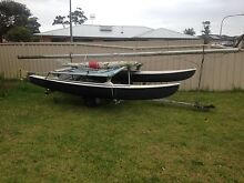 14 foot Hobie Cat with Jib and trailer Sanctuary Point Shoalhaven Area Preview