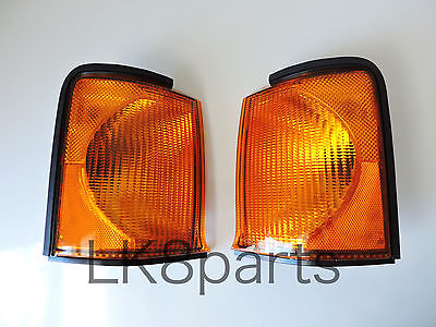 LAND ROVER DISCOVERY 2 99-02 FRONT TURN SIGNAL LAMP LIGHT SET PAIR LH RH NEW