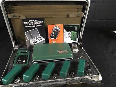 Vintage Sound Meter Du Pont Audio Dosimeter Calibrator. Sl