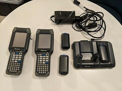 2 Intermec Ck3a1 Barcode Scanners Mobile Computer Ck3 W Holster And Charger