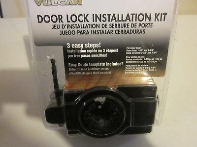 Door Wood Kit - WOOD DOOR LOCK INSTALLATION KIT BY VULCAN 332-5347 SIZES 1-3/8 1-3/4 2-3/8 2-3/4