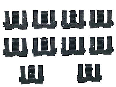 55 80 Nos Gm Chevy Side Door Glass Window Channel Run Weatherstrip Clips 10Pcs