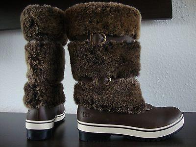UGG LILYAN 1001374 Womens Boot Damen Stiefel Winterboots Lammfell Leder Gr.37 ()