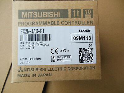 Mitsubishi Plc Fx2n-4ad-pt New Free Expedited Shipping