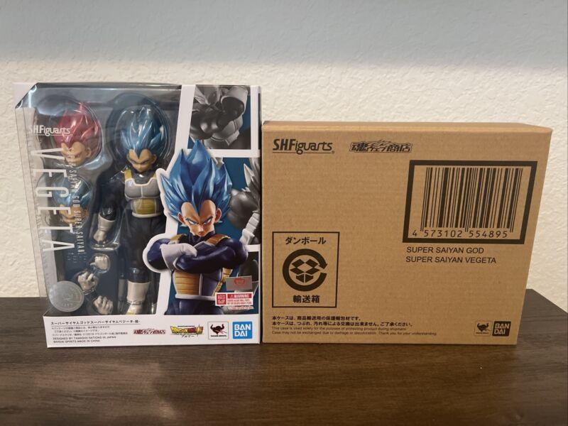 SH Figuarts DragonBall Super SSGSS Vegeta With Brown Box!!!