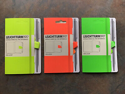 Leuchtturm1917 Self-adhesive Pen Loopholder For Notebooks Elastic