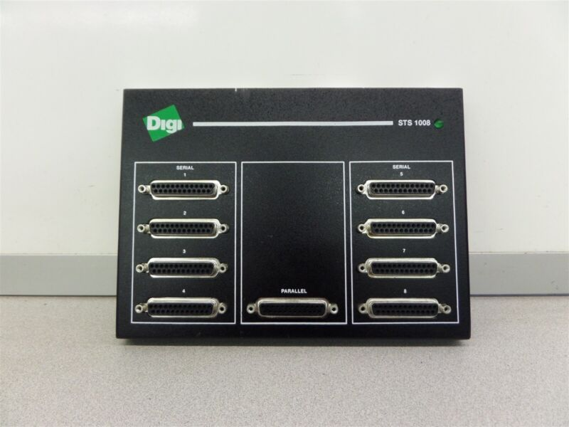 DIGI STS1008 SCSI Terminal Server 1008 1P 5001008-01