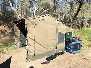 Oztent RV3 tent and delux side panels Madora Bay Mandurah Area Preview
