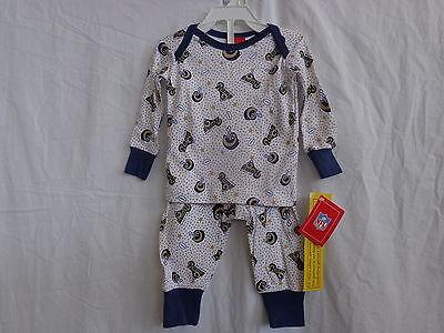St. Louis Rams 2 Pc Pajama Set - Infant Toddler Child (Ball & Star -