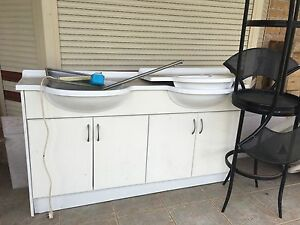 Double basin and cabinet Mount Druitt Blacktown Area Preview