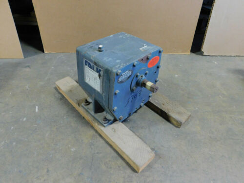 NEW Falk Enclosed Gear Drive, Box, 21.120:1 Ratio, RK1030F 2A speed reducer