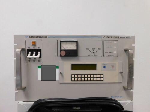 California Instruments 4500L AC Power Source