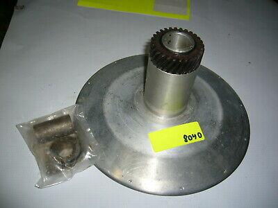 Vintage Meat Slicer Blade Holder Aluminum W Gear Model Unknown Maybe Globe