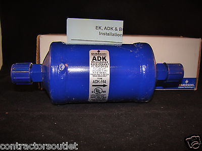 New Overstock Emerson Adk-16 4 - 12 Sae Flare Refrigerant Filter Drier