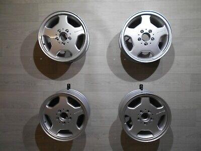 4x Mercedes W202 AMG Styling 2 Alufelgen 7x15 ET37 5x112 2024010902 Monoblock