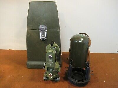Wild Heebrugg Theodolite T16 Survey Equipment With Carrying Case