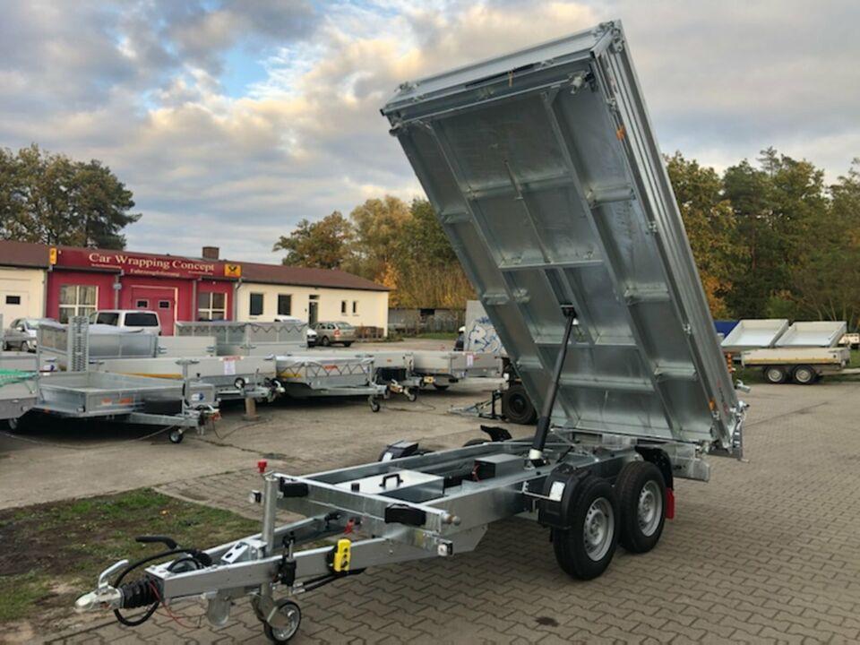 ✅ Pongratz e-Kipper 3-Seiten 3500 kg 358x177x40cm 3-SKS 3600/17 T in Schöneiche bei Berlin