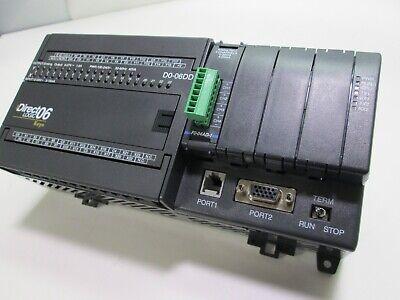 Automation Direct Logic D0-06dd1 Plc 100-240vac Input 12-24vdc Output 6-27vdc