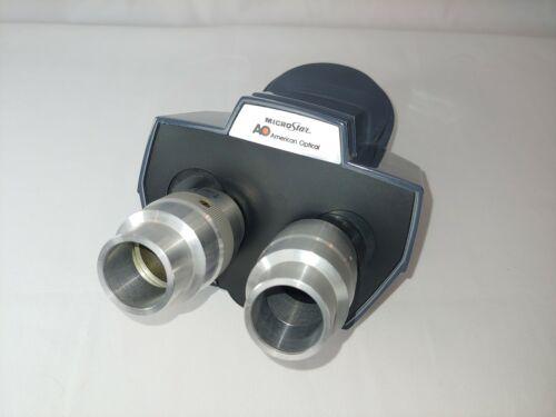 AO American Optical Microstar Binocular Head One-Ten 110/120 NO EYEPIECES