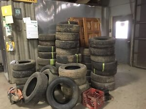 Winter Tires. Various sizes