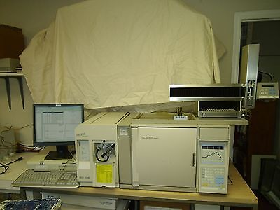 Thermofisons Md800 Gc Ms System With Xcalibur Software Mass Spectrometer