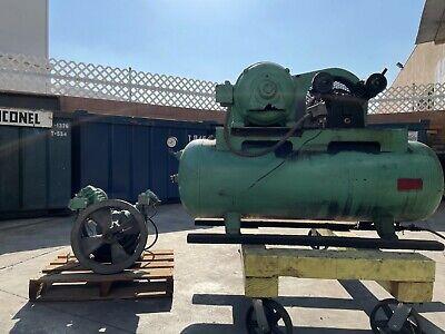 200 Lbs Air Compressor New Head Original Buehler Tank And Welding Works