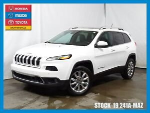 2015 Jeep Cherokee Limited|TOITPANO|CUIR|GPS|MAG|4X4|