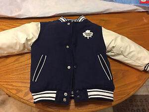 Toronto Maple Leafs child's reversible coat