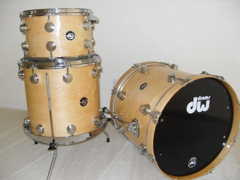 used dw drum sets ebay. Black Bedroom Furniture Sets. Home Design Ideas