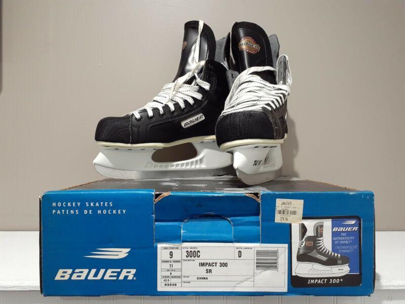 BAUER Hockey Skates Impact 300 SR Size Sz 9