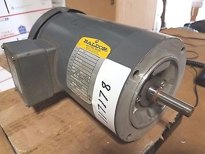 New Baldor 2 Hp 3 Phase Motor  Vm3558