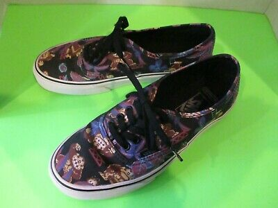 VANS X NINTENDO DONKEY KONG MENS US SZ 7 WOMANS SZ 8.5 USED LACE UP SNEAKERS HTF