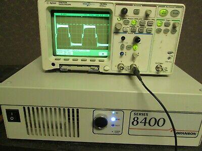 Ultrasonic Generator High Power Tested 40khz 330v Branson S8440-24 Sweep Timer