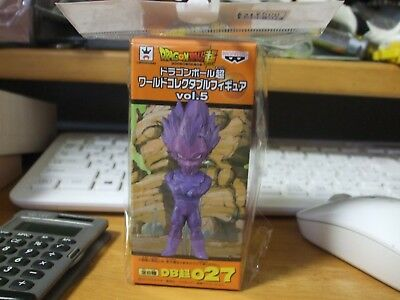 Dragon ball super wcf vol 5 cloned vegeta  figure used japan