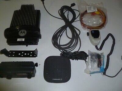 Motorola Pm1500 110w 136-174 Mhz Vhf Remote Head Two Way Radio Aam79ktd9pw5an