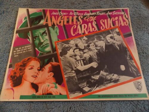 ANGELS WITH DIRTY FACES(1938)JAMES CAGNEY ORIGINAL MEXICAN LOBBY CARD